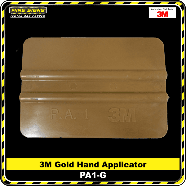 3M Gold Hand Applicator/Squeegee (PA1-G)